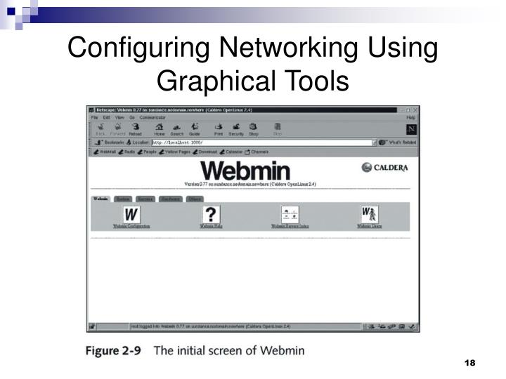 Configuring Networking Using Graphical Tools