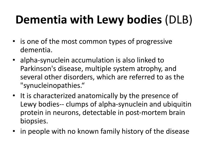 Dementia with