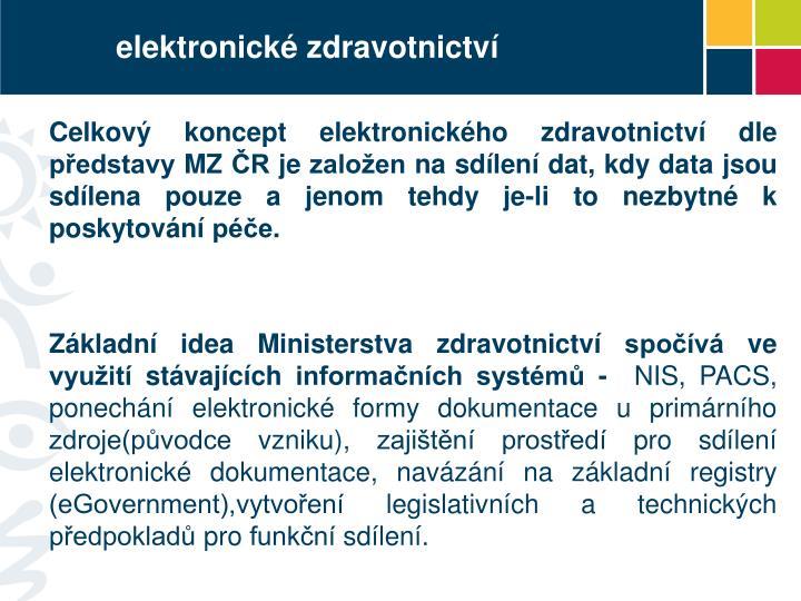 elektronické zdravotnictví