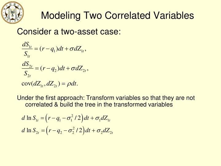 Modeling Two Correlated Variables