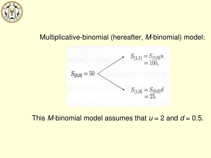 Multiplicative-binomial (hereafter,