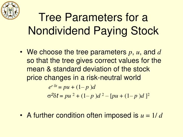 Tree Parameters for a