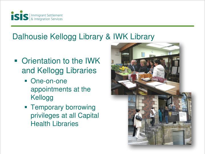 Dalhousie Kellogg Library & IWK Library