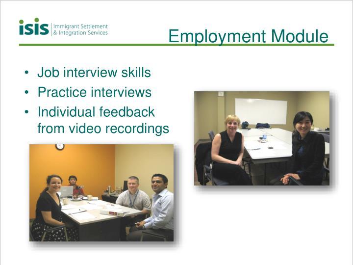 Employment Module