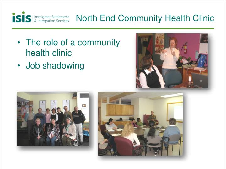 North End Community Health Clinic