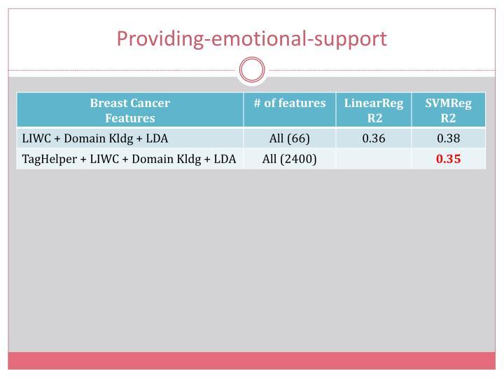 Providing-emotional-support