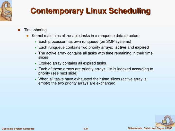 Contemporary Linux Scheduling