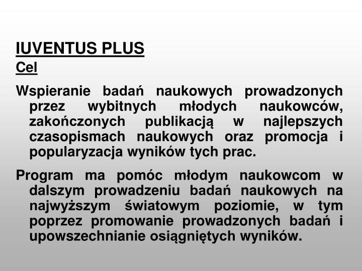 IUVENTUS PLUS