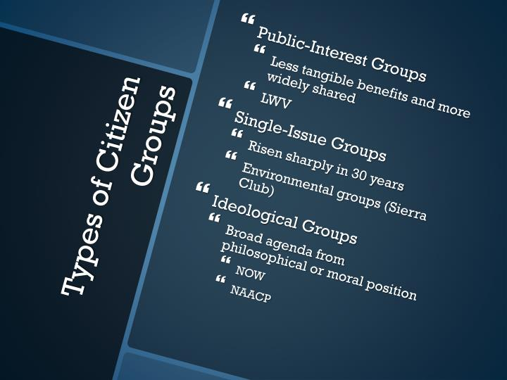 Public-Interest Groups