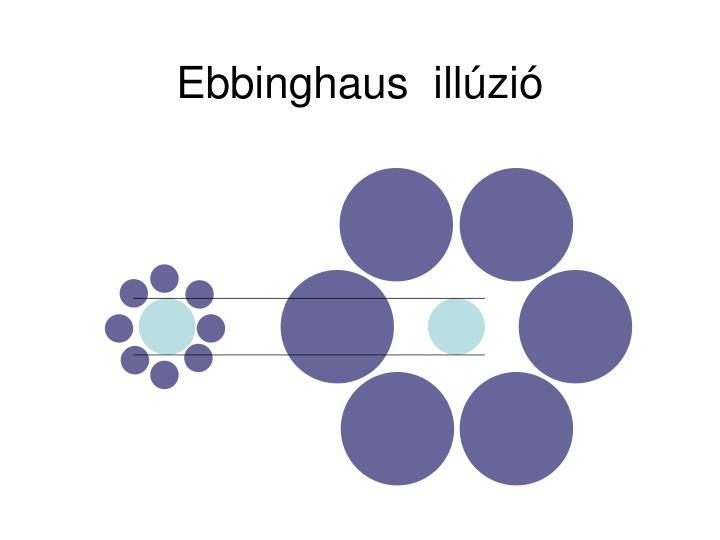 Ebbinghaus  illúzió