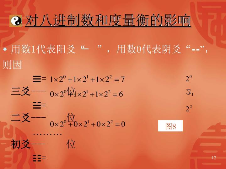 对八进制数和度量衡的影响