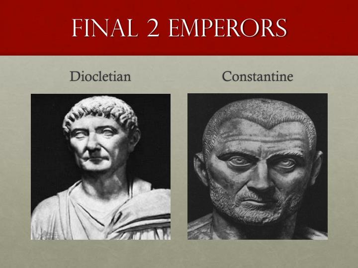 Final 2 emperors