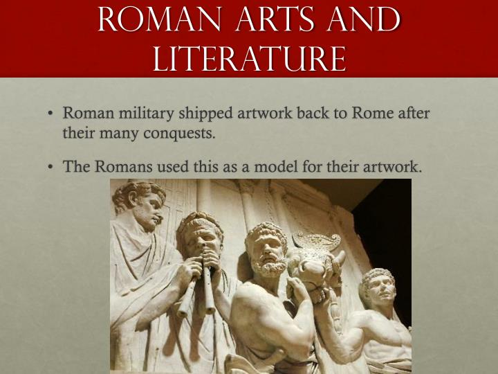 Roman arts and literature