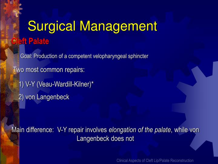 Surgical Management