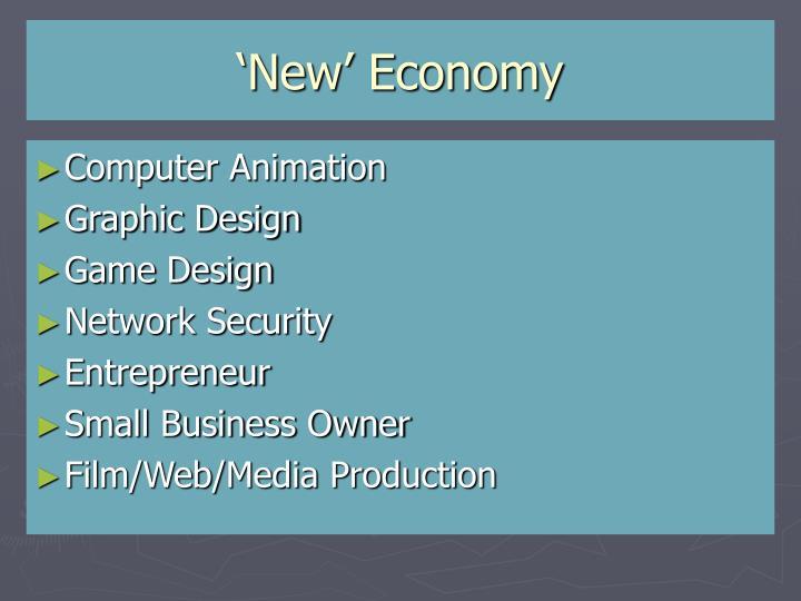 'New' Economy