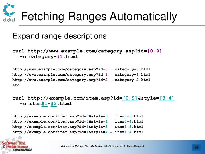 Fetching Ranges Automatically