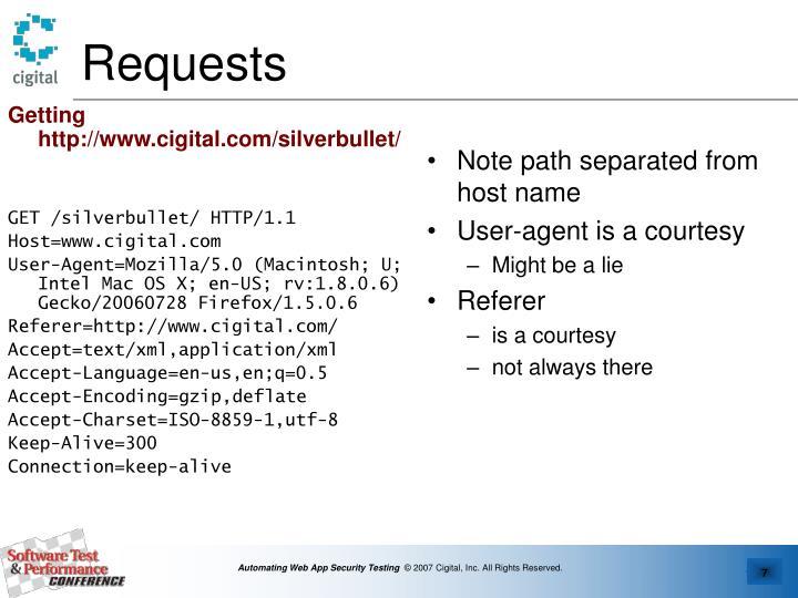 Getting http://www.cigital.com/silverbullet/