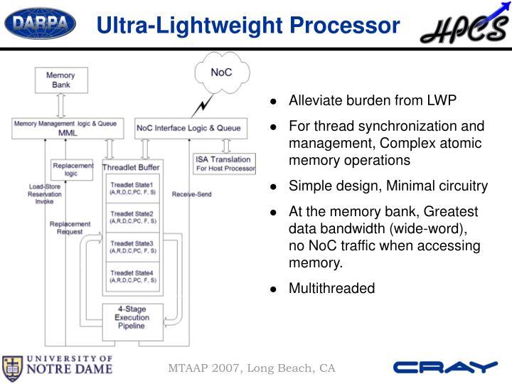 Ultra-Lightweight Processor