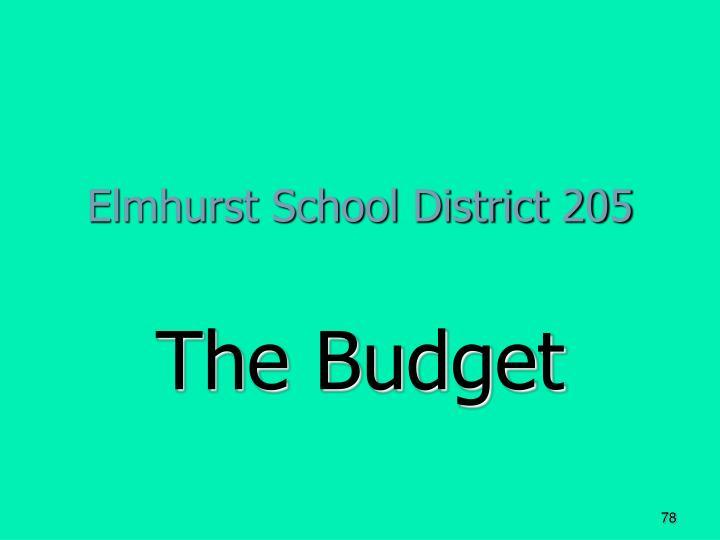 Elmhurst School District 205