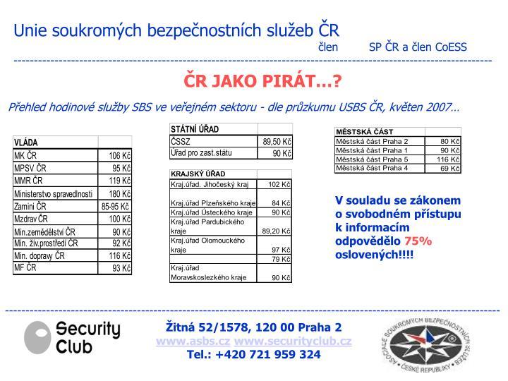 Unie soukromých bezpečnostních služeb ČR