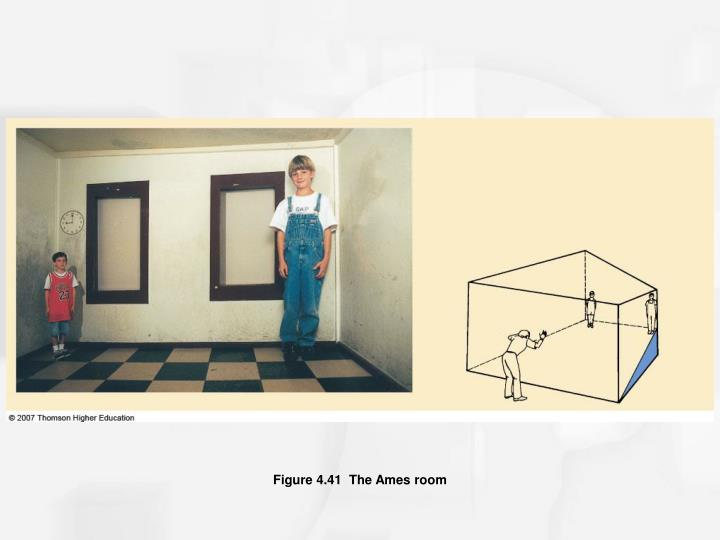 Figure 4.41  The Ames room