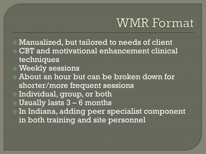 WMR Format