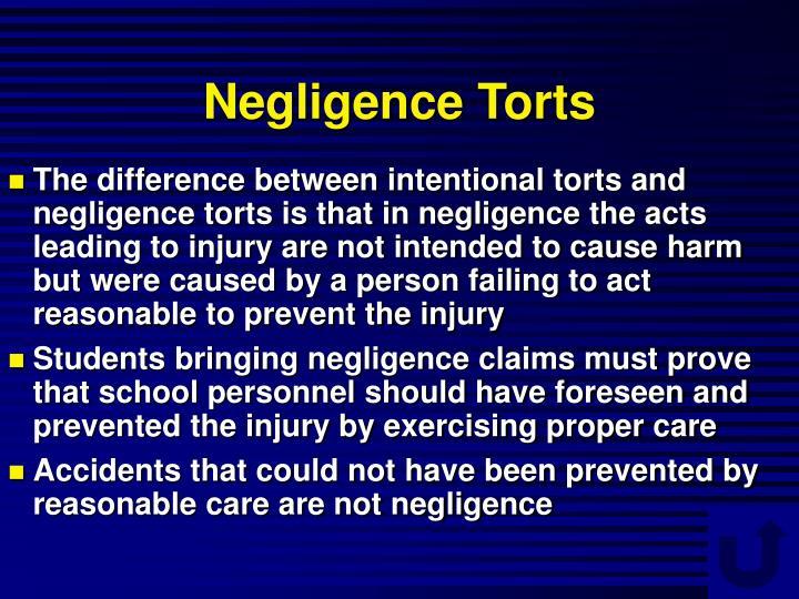 Negligence Torts