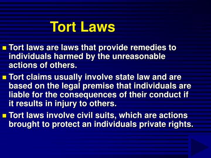 Tort Laws