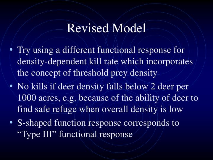 Revised Model
