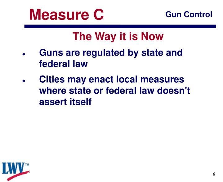 Measure C
