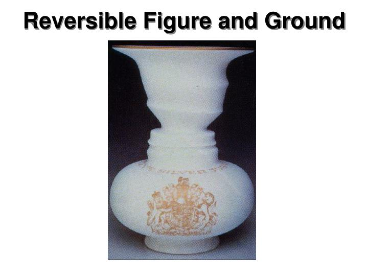 Reversible Figure and Ground