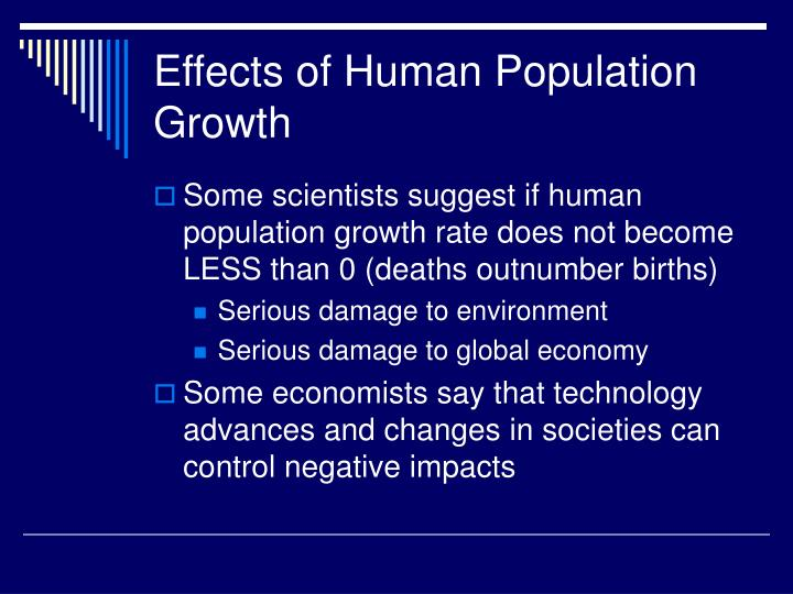 Effects of Human Population Growth