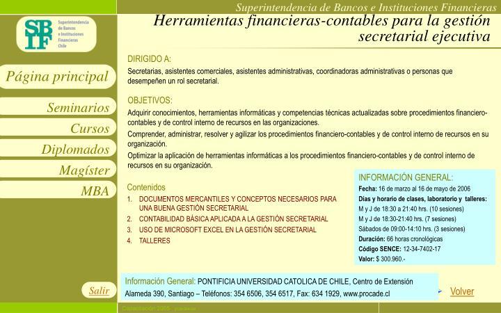 Herramientas financieras-contables para la gestión secretarial ejecutiva