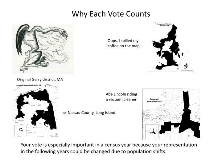 Why Each Vote Counts