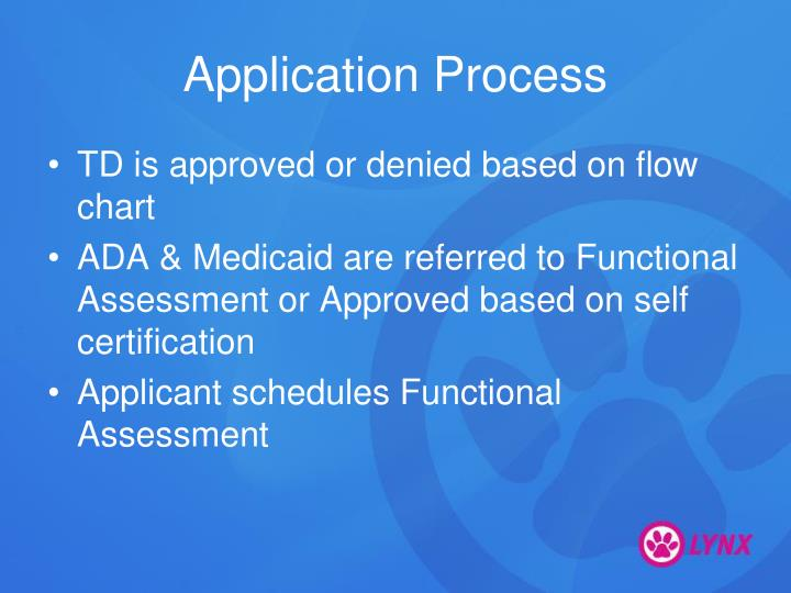 Application process1