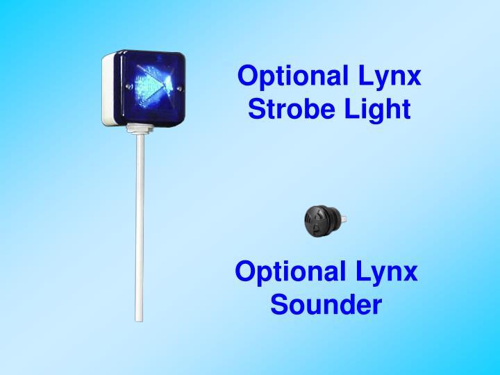 Optional Lynx Strobe Light