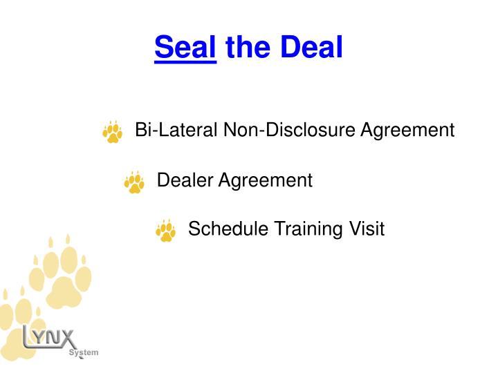 Bi-Lateral Non-Disclosure Agreement