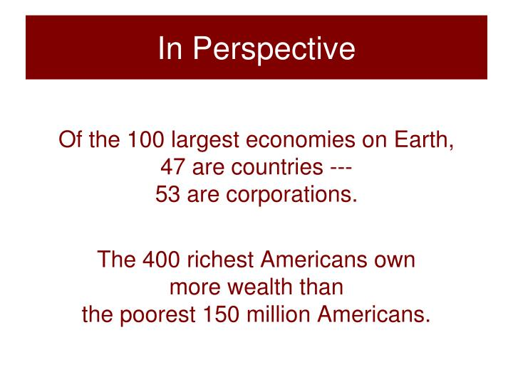 In Perspective