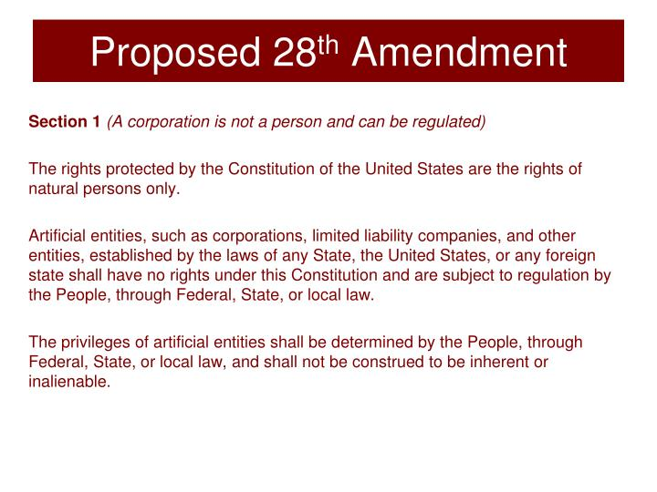 Proposed 28