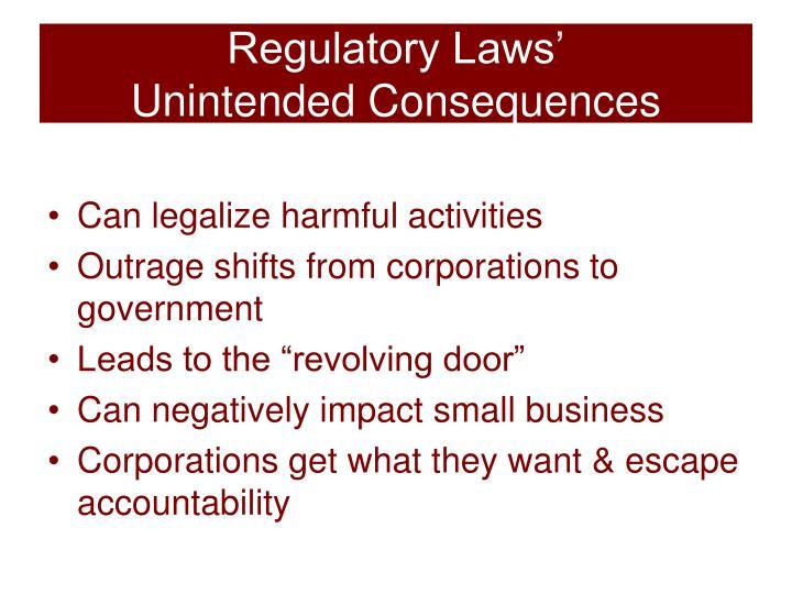 Regulatory Laws'