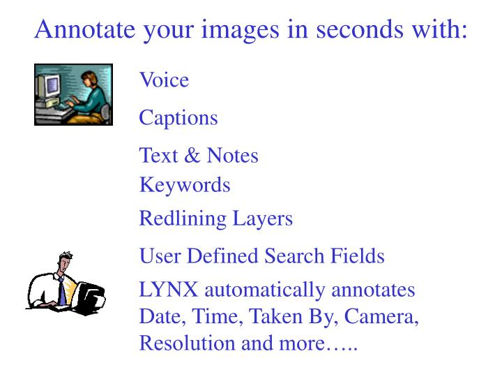 Annotate your images in seconds with: