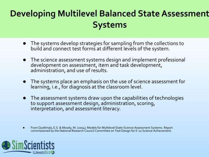 Developing Multilevel