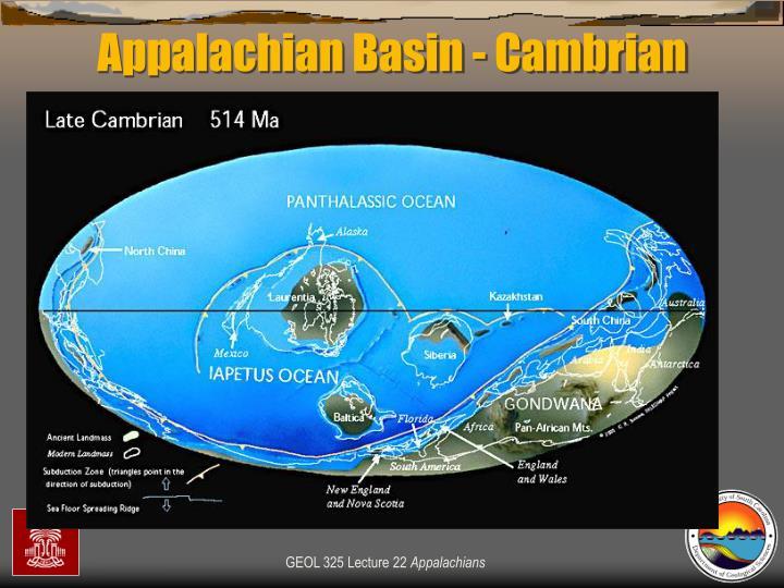 Appalachian Basin - Cambrian