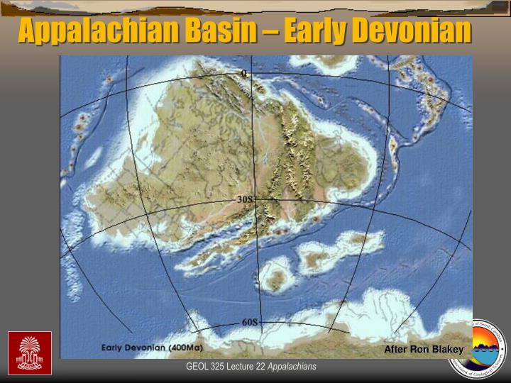 Appalachian Basin – Early Devonian