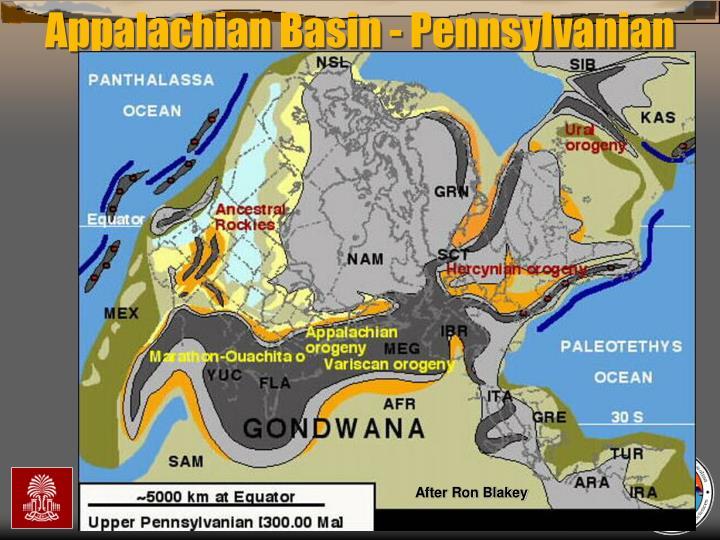 Appalachian Basin - Pennsylvanian