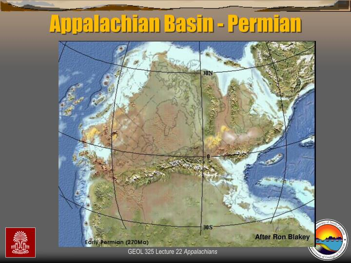 Appalachian Basin - Permian