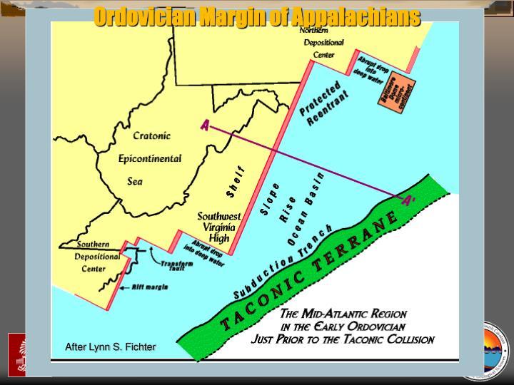 Ordovician Margin of Appalachians