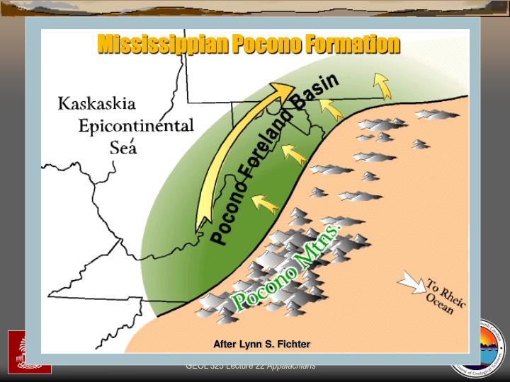 Mississippian Pocono Formation