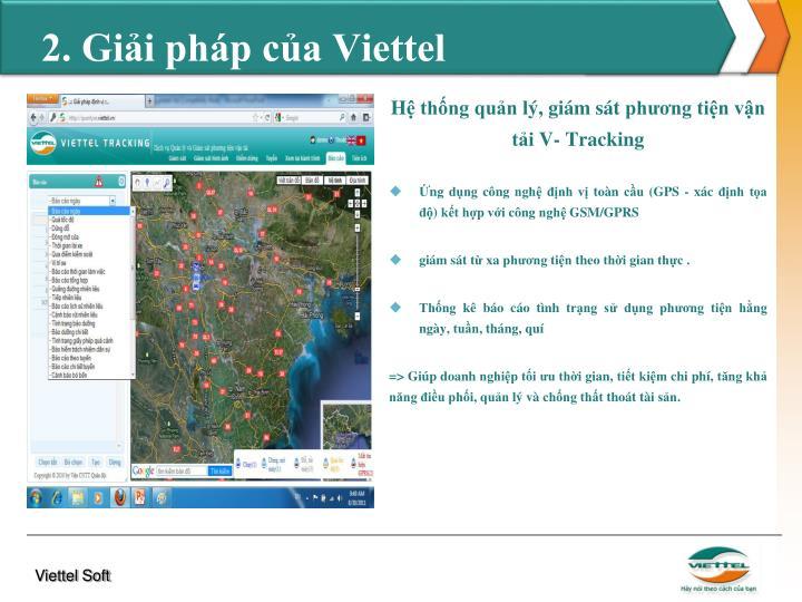 2. Giải pháp của Viettel