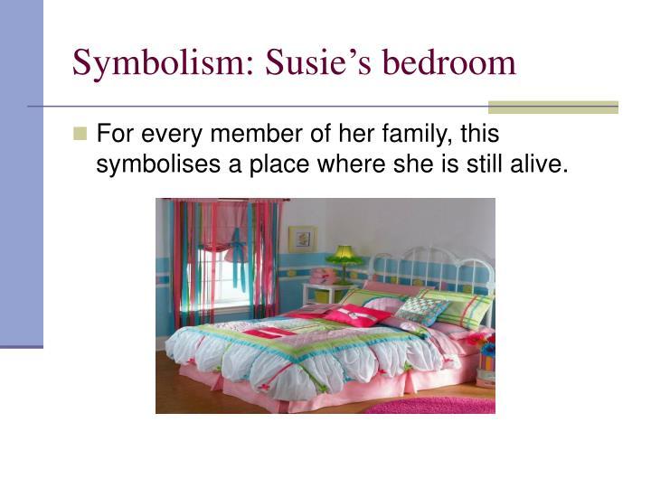 Symbolism: Susie's bedroom